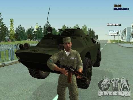 БРДМ 2 для GTA San Andreas вид сбоку