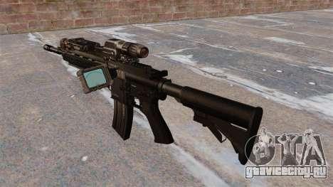 Автомат HK416 для GTA 4 второй скриншот
