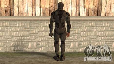 Robocop 2014 Movie Version для GTA San Andreas второй скриншот