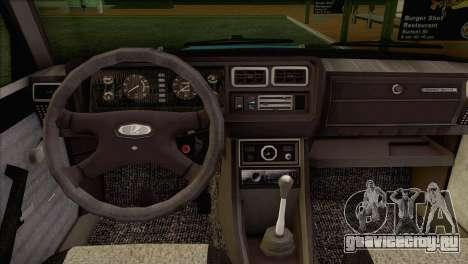 ВАЗ 2107 для GTA San Andreas вид справа