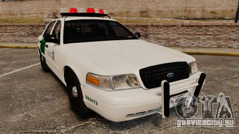 Ford Crown Victoria 1999 U.S. Border Patrol для GTA 4
