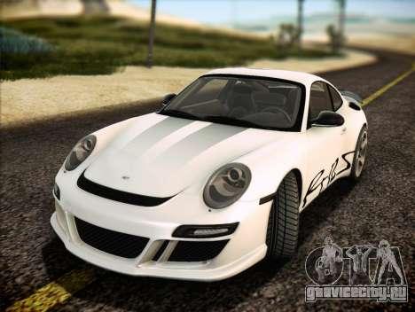 RUF RT12S для GTA San Andreas двигатель