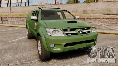 Toyota Hilux Land Forces France [ELS] для GTA 4