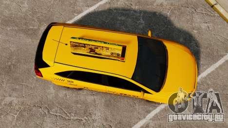 Habanero Taxi для GTA 4 вид справа