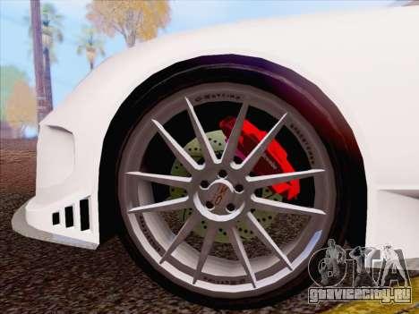 Porsche Carrera S для GTA San Andreas вид слева