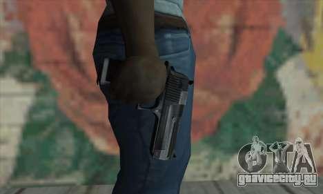 Desrt Eagle чёрный для GTA San Andreas третий скриншот