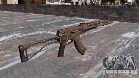 Автомат АЕК-973 для GTA 4 второй скриншот