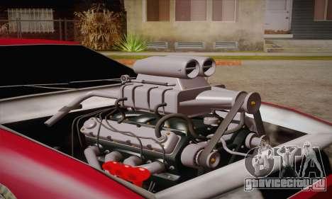 Elegy Frankinshtain для GTA San Andreas вид сзади слева