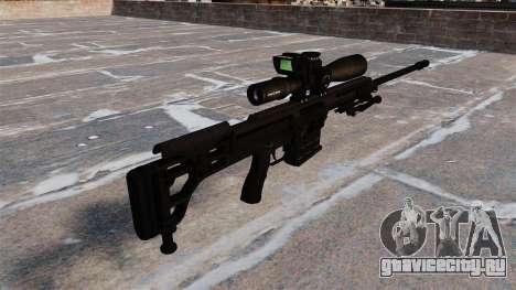 Снайперская винтовка Barrett 98B для GTA 4 второй скриншот