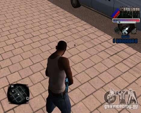 C-HUD Police Gang для GTA San Andreas второй скриншот