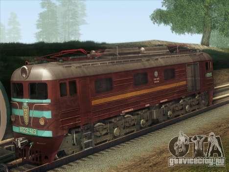 ВЛ23-419 для GTA San Andreas вид сзади слева