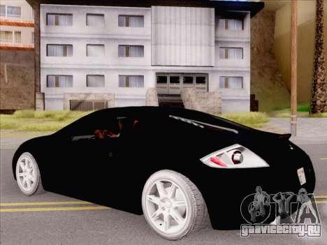 Mitsubishi Eclipse v4 для GTA San Andreas вид справа