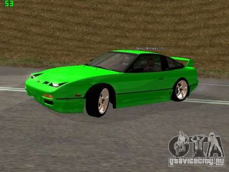Nissan 240SX Drift Version для GTA San Andreas вид слева