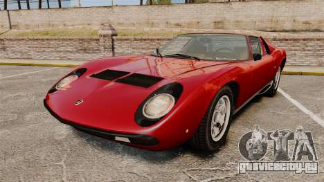 Lamborghini Miura P400 SV 1971 для GTA 4