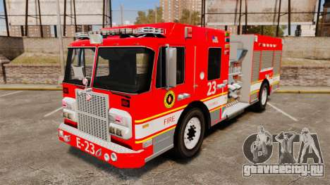 Division on Fire Columbus Firetruck [ELS] для GTA 4