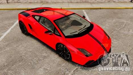 Lamborghini Gallardo 2013 v2.0 для GTA 4 салон