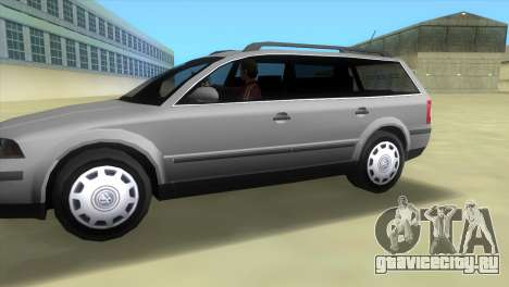 Volkswagen Passat B5+ Variant 1.9 TDi для GTA Vice City вид слева