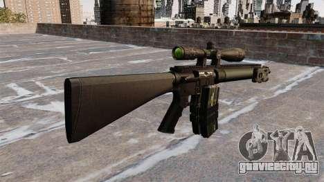 Снайперская винтовка Mk 12 для GTA 4 второй скриншот