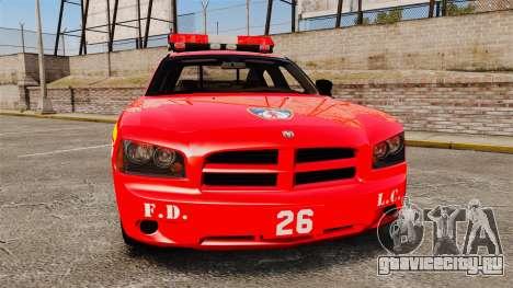 Dodge Charger LCFD Battalion Chief [ELS] для GTA 4
