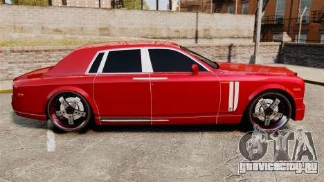 Rolls-Royce Phantom Mansory для GTA 4 вид слева