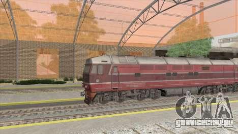 РЖД станция в Сан-Фиерро для GTA San Andreas второй скриншот