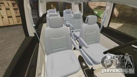 Renault Espace IV Initiale v1.1 для GTA 4 вид сбоку