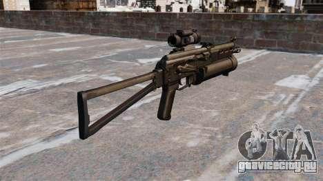 Пистолет-пулемёт ПП-19 Бизон для GTA 4 второй скриншот