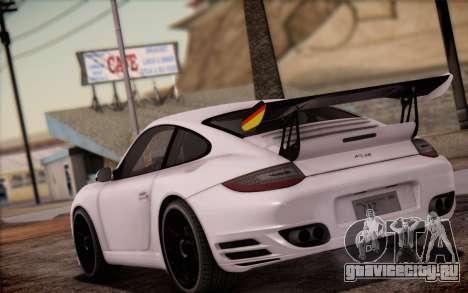 RUF RT12R для GTA San Andreas двигатель