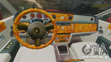 Rolls-Royce Phantom Mansory для GTA 4 вид сбоку