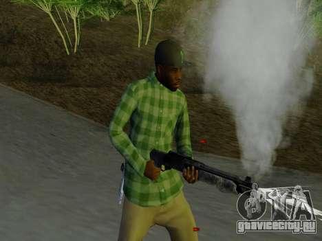 Член банды Grove Street из GTA 5 для GTA San Andreas