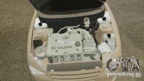 ВАЗ-2112 Hybrid для GTA 4 вид сзади