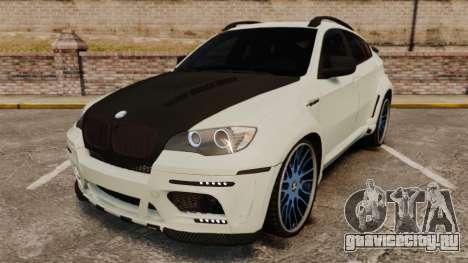 BMW X6 M HAMANN 2012 для GTA 4
