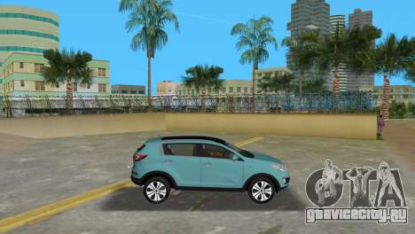 Kia Sportage для GTA Vice City вид слева