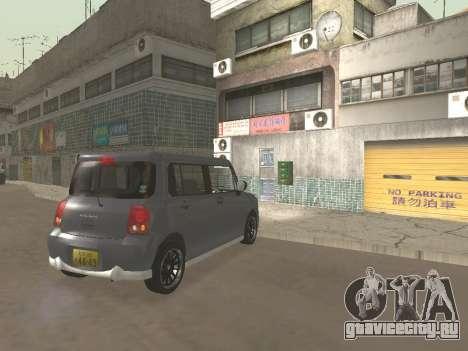 Suzuki Alto Lapin для GTA San Andreas вид сверху