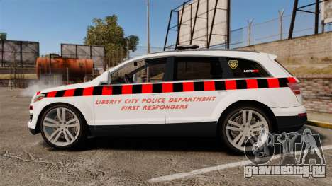 Audi Q7 Enforcer [ELS] для GTA 4 вид слева