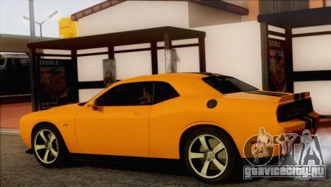 Dodge Challenger SRT8 2012 HEMI для GTA San Andreas вид слева