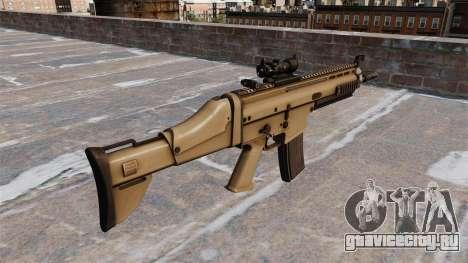 Автомат FN SCAR-L для GTA 4 второй скриншот