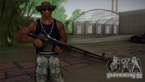 Browning M1918 для GTA San Andreas третий скриншот