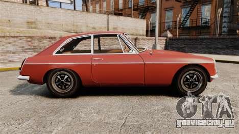 MG MGB GT 1965 для GTA 4 вид слева