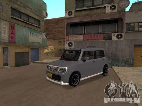 Suzuki Alto Lapin для GTA San Andreas вид слева