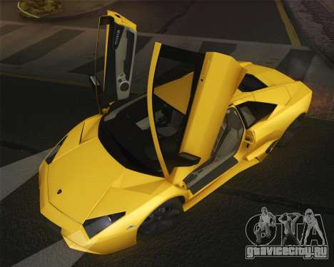 Lamborghini Reventon 2008 SLOD для GTA San Andreas вид справа