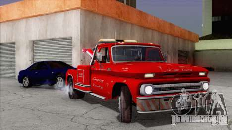 Chevrolet C20 Towtruck 1966 1.01 для GTA San Andreas