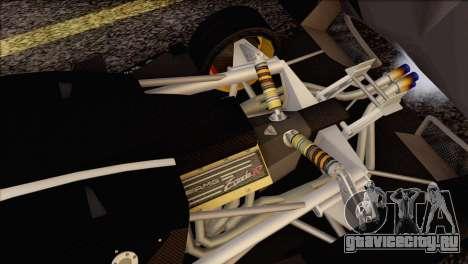 Pagani Zonda R SPS v3.0 Final для GTA San Andreas салон