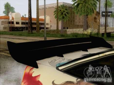 Uranus Grand Chase Texture для GTA San Andreas вид сзади