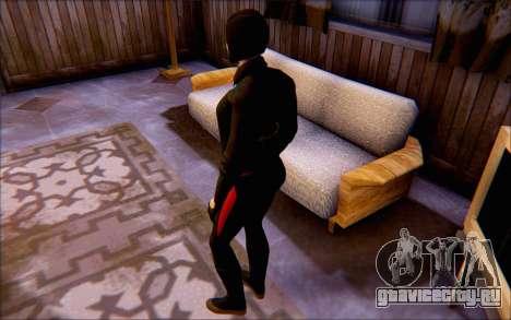 Леди Шива из игры Batman Arkham Origins для GTA San Andreas третий скриншот