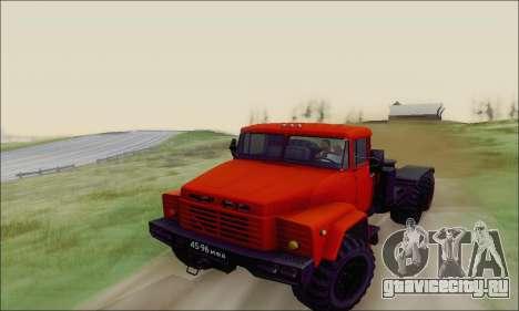 КрАЗ 260В для GTA San Andreas вид сбоку