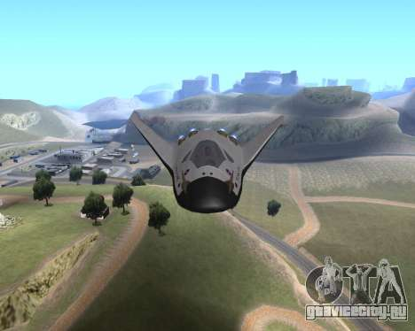 FARSCAPE modul для GTA San Andreas вид сзади