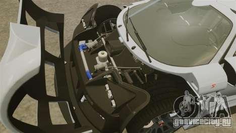 Gumpert Apollo S 2011 для GTA 4 вид изнутри