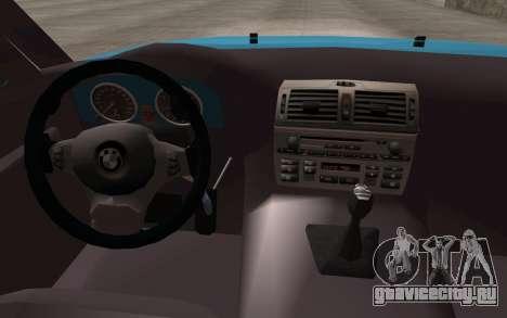 BMW 325Ci 2003 для GTA San Andreas вид справа