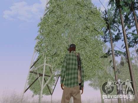 Член банды Grove Street из GTA 5 для GTA San Andreas шестой скриншот